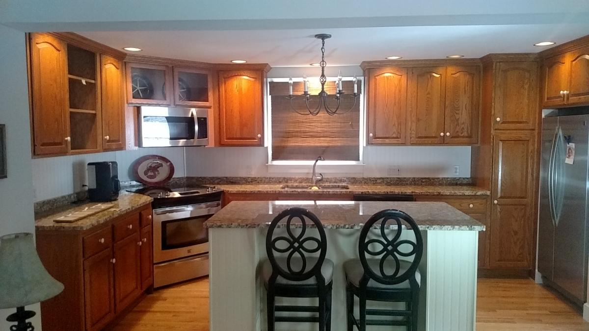 Yarmouth Cabinets: Before